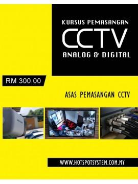 Kursus Pemasangan CCTV (1 hari)