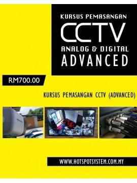 Kursus Pemasangan CCTV (Advanced)